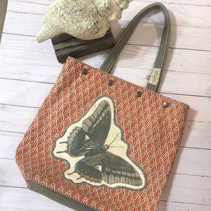 Saltbox purse/bag Butterfly
